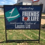 Lawns Ltd. donates landscaping to Friends for Life